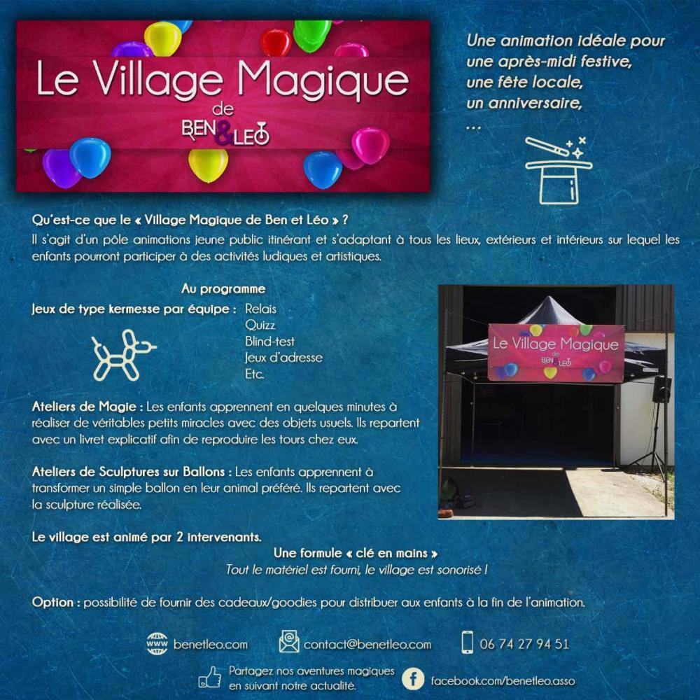 Le village magique ben leo description