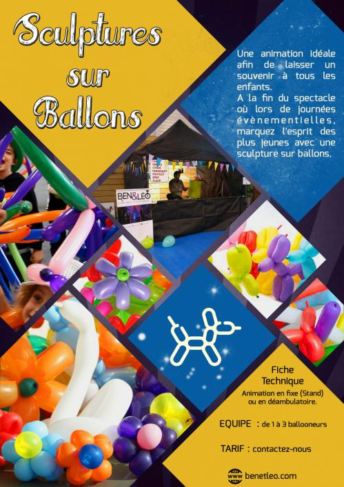 Support sculptures ballons 2019 sp